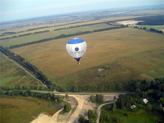 Компанія розвиває кадри польотами на повітряних кулях. ФОТО