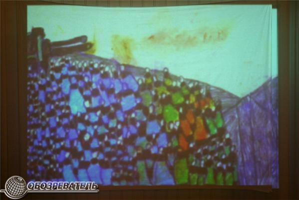 Психи посвящают свои картины Ринату Ахметову