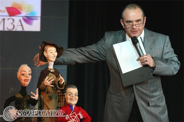 Театр политических кукол. Фоторепортаж