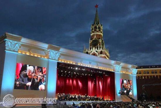 Святкування 860-річчя Москви. Фоторепортаж