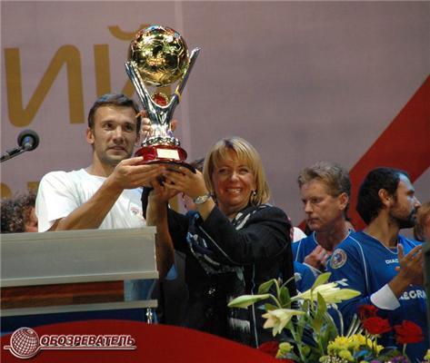 Андрій Шевченко привіз до Києва італійців і виграв у них