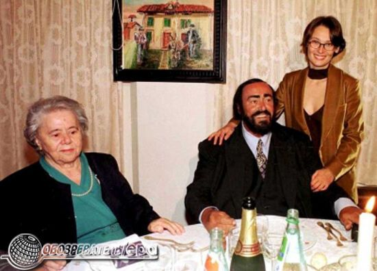 Умер великий тенор Лучано Паваротти. ФОТО