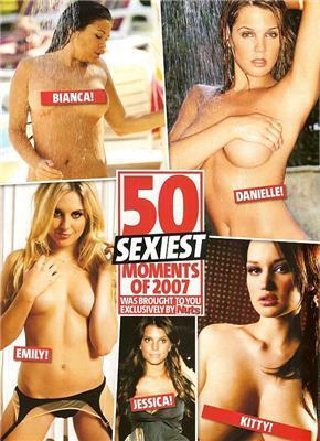 50 найбільш голих моментів за версією Nuts