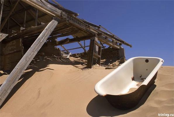 Море алмазів. Покинуте місто Колманскоп в Намібії
