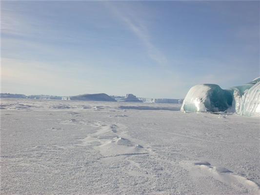 Майже абсолютний нуль. Замерзле цунамі. Унікальне видовище