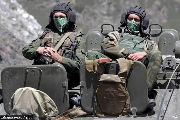 Пьяные российские солдаты чуть не проспали отход из Грузии
