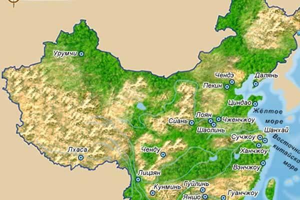 В Китае вновь землетрясение