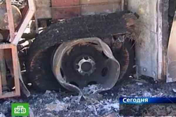 В автобусе заживо сгорели 16 пассажиров