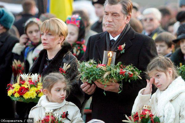 Телеурок Ющенко увидят все школьники страны