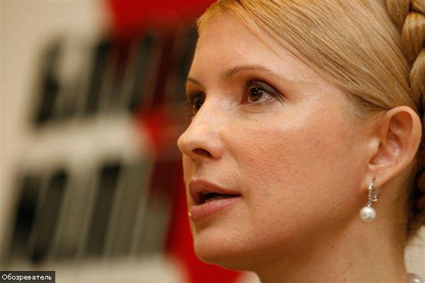 Тимошенко тоже пообщалась с Каддафи