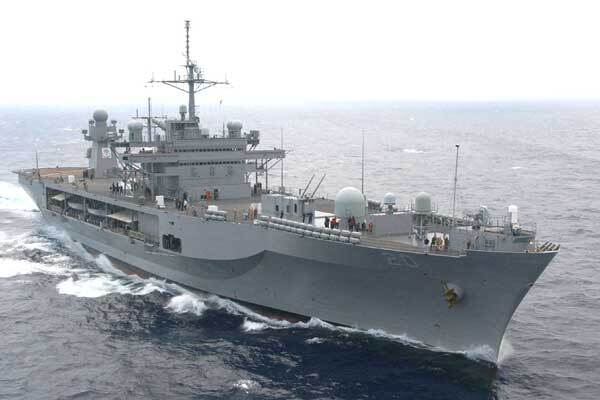 Украинские пограничники задержали американский корабль