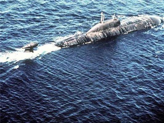 Пожар на атомной подлодке ВМФ России