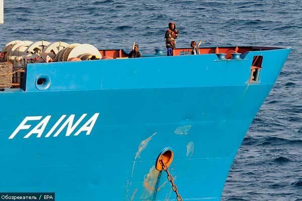 Пираты требуют от украинских моряков большей суммы выкупа