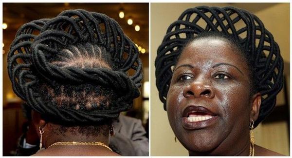 Прем'єр-міністр з косою - негритянка ...
