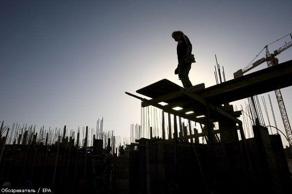 В Україні починається рецесія. Зі будівництва