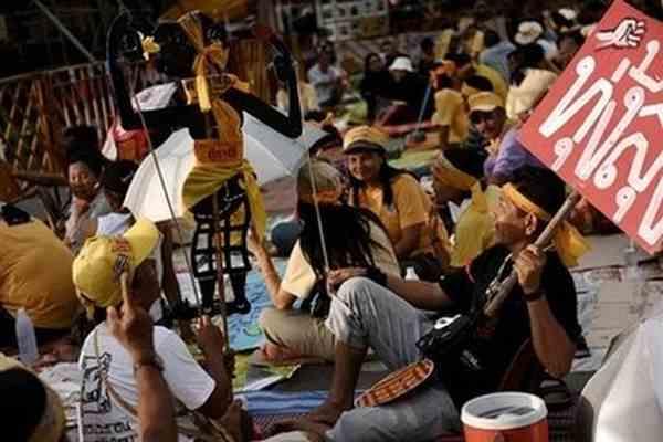 КС Таїланду евакуювали через заворушення
