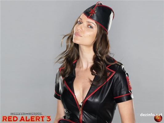 Военные, настоящие гвардейские девушки Red Alert 3