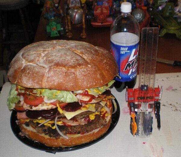 Гамбургер по-домашнему