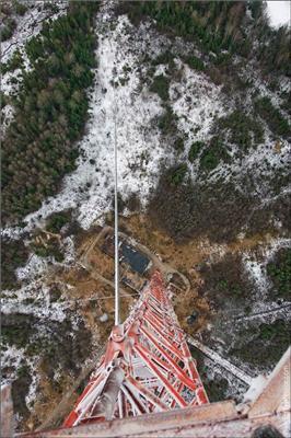 Хотите посмотреть вниз с высоты 350 метров?