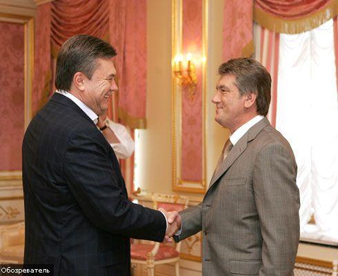 Янукович і Ющенко зварять ширку на надгробку БЮТ