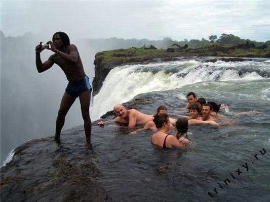 Рай для самоубийц. Купель Дьявола на водопаде Виктория
