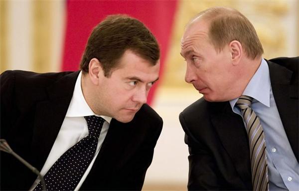 Как Дима Медвед попалил Владимира Владимировича