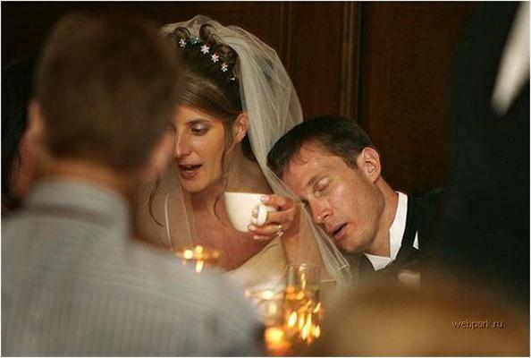 Весільні кур'ези.Епіляція перед вночі і стягання підв'язок