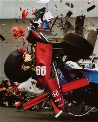 """Жесть і м'ясо в купу. Аварія на гонках """"Формула-1"""""""
