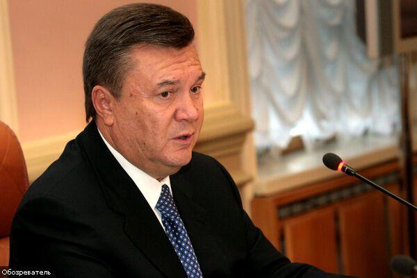 Янукович призывает гаранта остановить Тимошенко