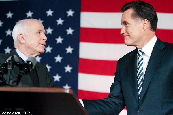 Джон Маккейн назвав ім'я свого віце-президента