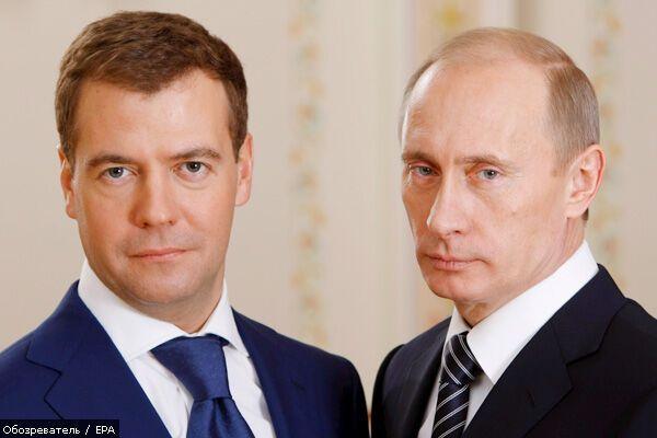 Медведєв переїхав жити до Путіна