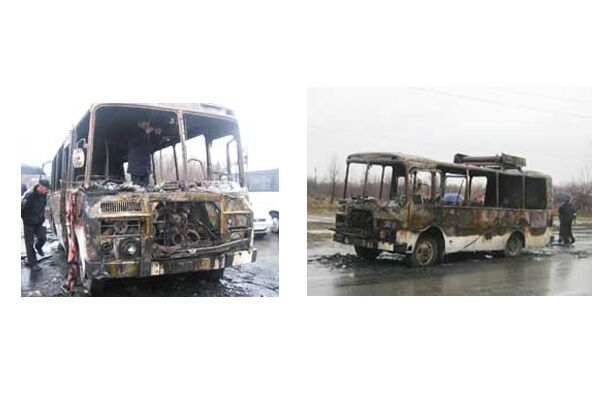 У Запоріжжі заживо згоріли пасажири