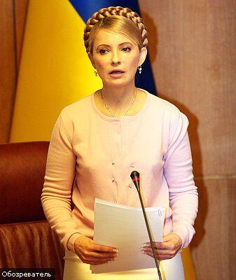 """Тимошенко - Балозі: """"Я сказала: перевибори!"""""""