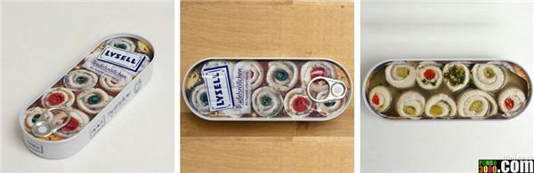 Продукти харчування на упаковці і в реальному житті