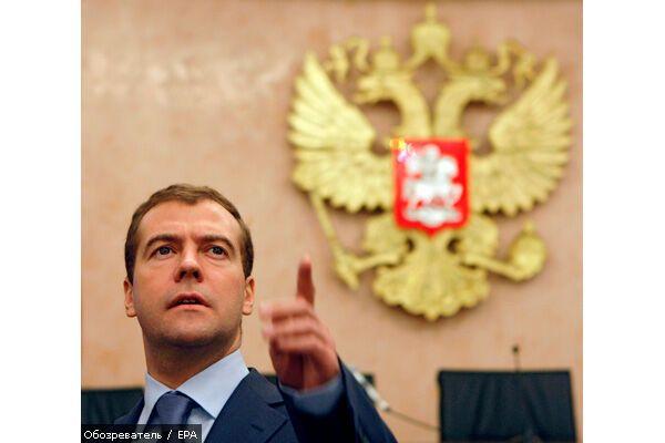 Медведєв не дасть втягнути Україну в НАТО