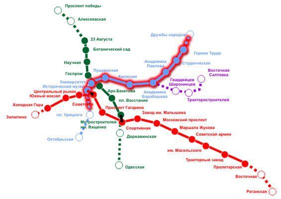 В харьковском метро теракт?