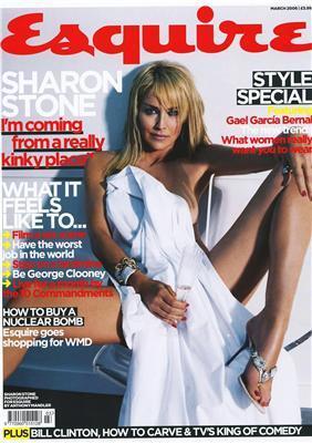 Шерон Стоун для Esquire. Витріть слюні