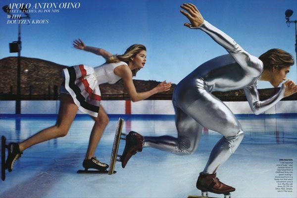 Спортивный гламур журнала Vogue