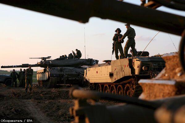 Ізраїль вивів війська з сектора Газа, 3 березня 2008