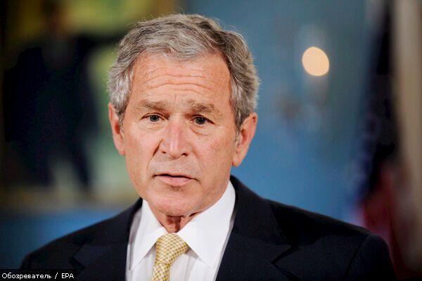 Буш оптимістично налаштований щодо України