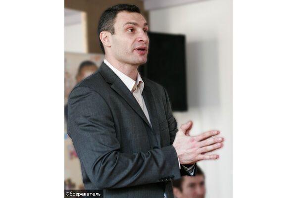 Віталій Кличко навчить вбивць і гвалтівників