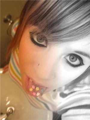 Эмо-девочки, странные создания...