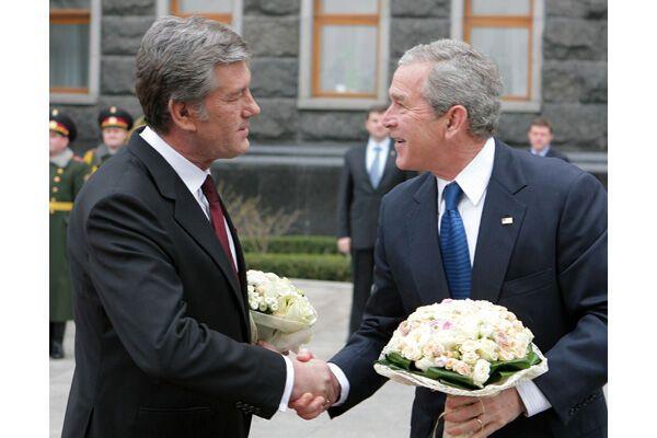 Буш і Ющенко завершили рандеву