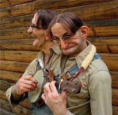 Страшные куклы Томаса Кублера. Двуглавые люди и зомби