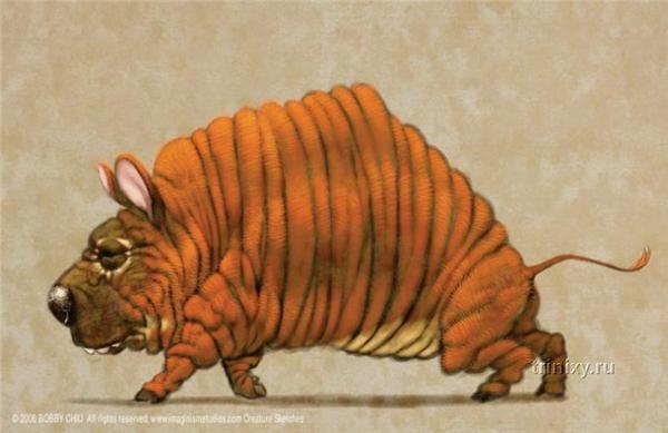 Коты, пугающие собак и зубастые репки. Классные рисунки