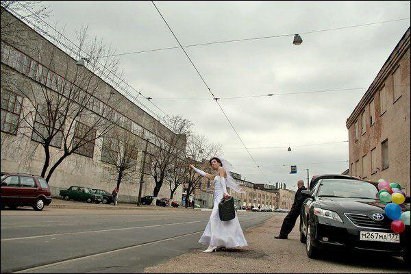 Такой свадебный альбом запомнится надолго... Креативные фото