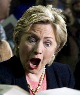 Жена президента: истеричная, пучеглазая, ковыряющаяся в носу