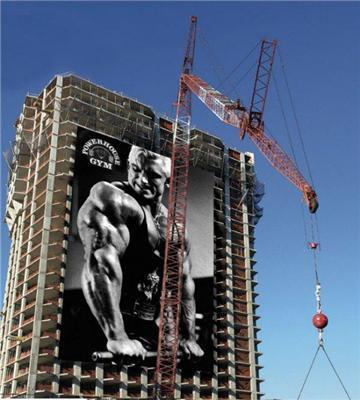 Человек, построивший небоскреб в одиночку...