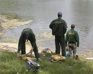 В киевском озере утонул мужчина