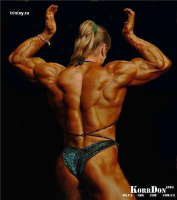 Самые сильные девушки Украины. В мазуте, но в бикини